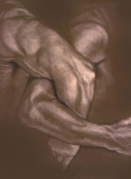 Painting - Brown Series Vi by John Clum