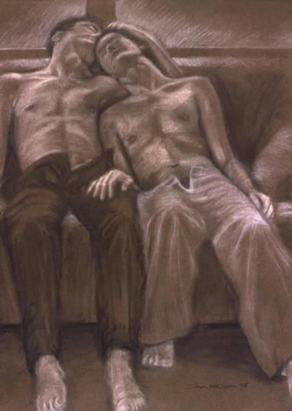 Painting - Brown Series Xvi by John Clum