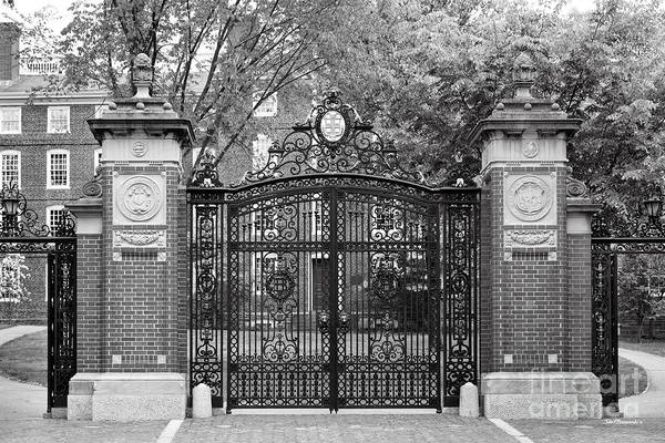 Photograph - Brown University Van Wickle Gates by University Icons