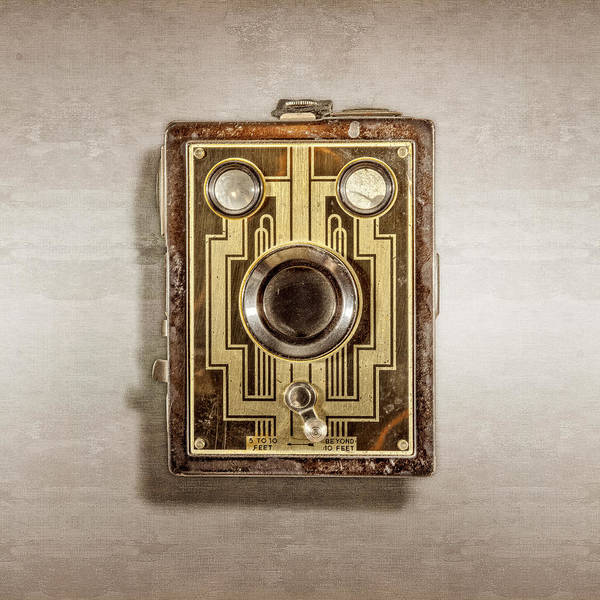 Brownie Photograph - Brownie Six-20 Front by YoPedro