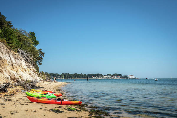 Photograph - Brownsea Island Beach by Framing Places
