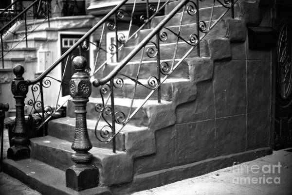 Wall Art - Photograph - Brownstone Stairs by John Rizzuto