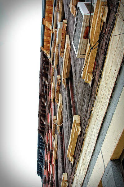 Photograph - Brownstone - Stoop - Abstract by Doc Braham