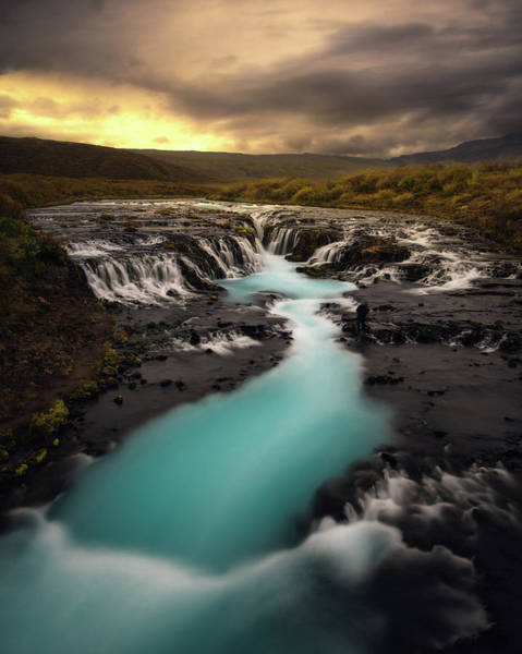Wall Art - Photograph - Bruarfoss by Tor-Ivar Naess