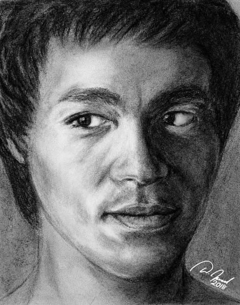 Bruce Lee Art Print by Walter Israel