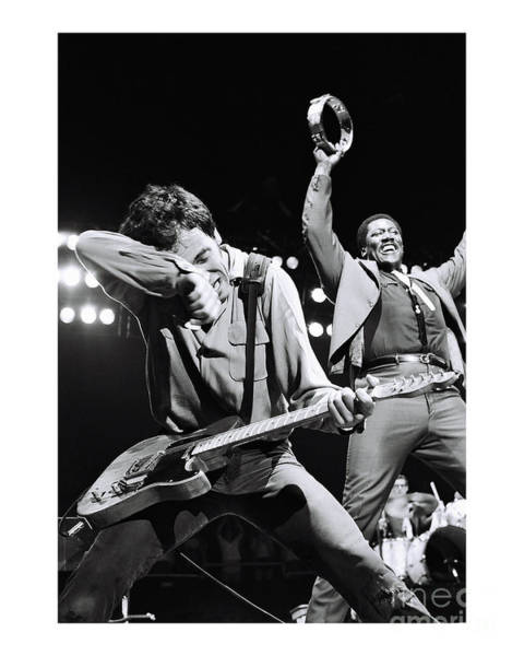 Chris Walter Wall Art - Photograph - Bruce Springsteen Limited Edition by Chris Walter