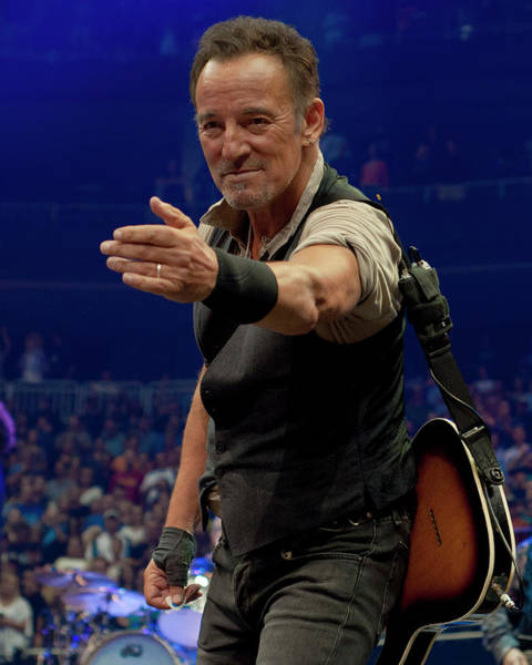 Pittsburgh Photograph - Bruce Springsteen. Pittsburgh, Sept 11, 2016 by Jeff Ross