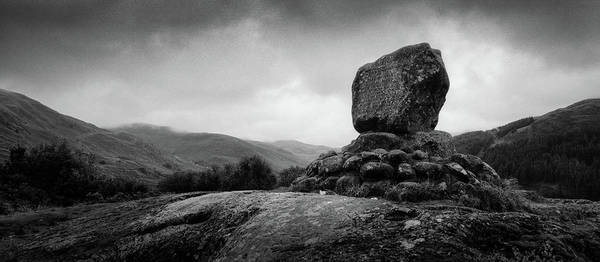 Galloway Wall Art - Photograph - Bruce's Stone by Dave Bowman