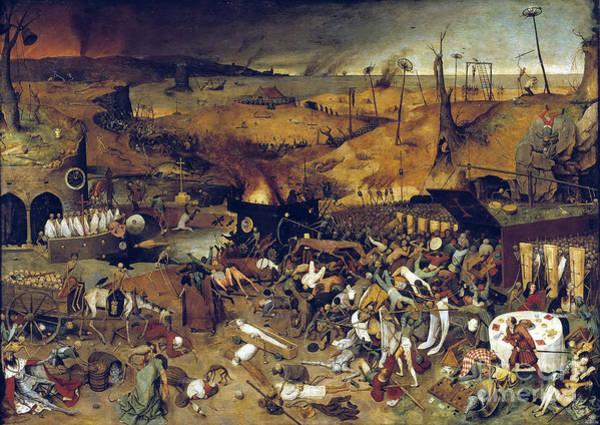 Photograph - Bruegel: Triumph Of Death by Granger