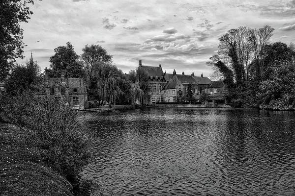 Photograph - Bruges Bw1 by Ingrid Dendievel
