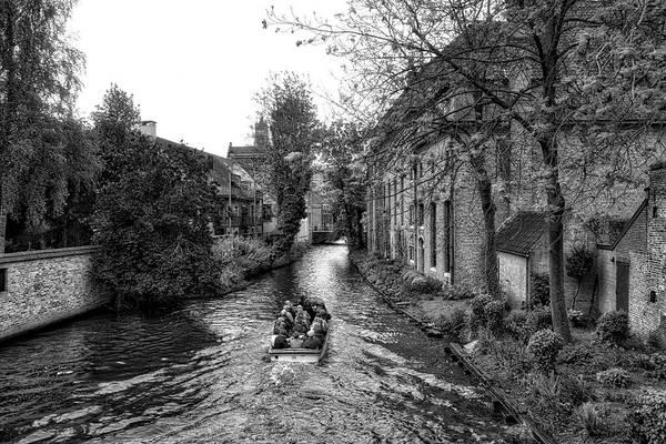 Photograph - Bruges Bw4 by Ingrid Dendievel