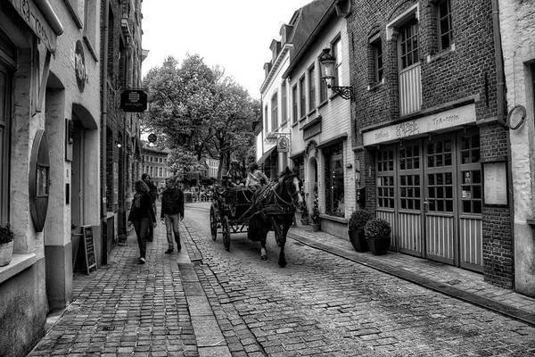 Photograph - Bruges Bw5 by Ingrid Dendievel