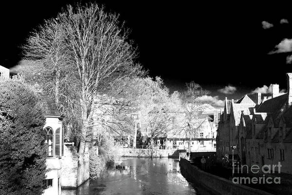 Wall Art - Photograph - Bruges Canal Scene Viii by John Rizzuto
