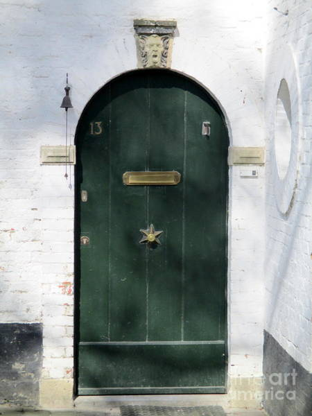 In Bruges Photograph - Bruges Door 5 by Randall Weidner