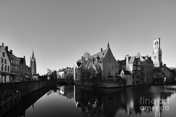 Canals Photograph - Bruges by Smart Aviation