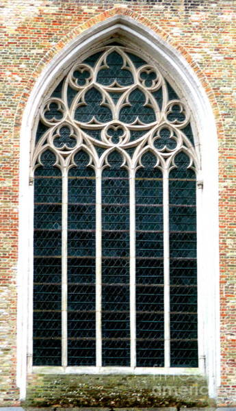 In Bruges Photograph - Bruges Window 2 by Randall Weidner