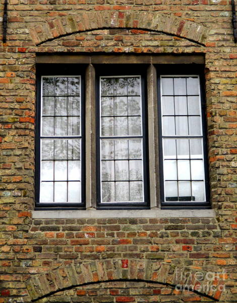 In Bruges Photograph - Bruges Window 3 by Randall Weidner