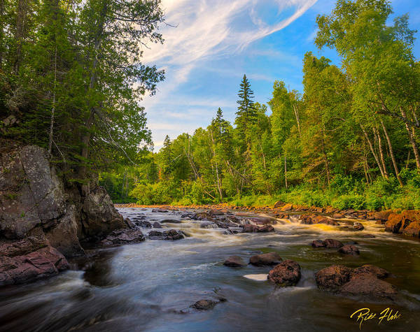 Photograph - Brule River by Rikk Flohr