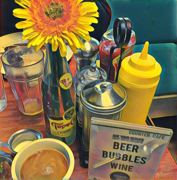 Photograph - Brunch At Counter Cafe by Cherylene Henderson
