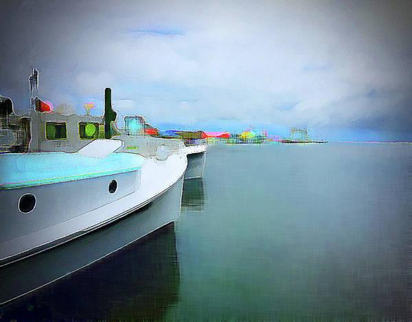 Digital Art - Brunswick St. View by Gina Harrison