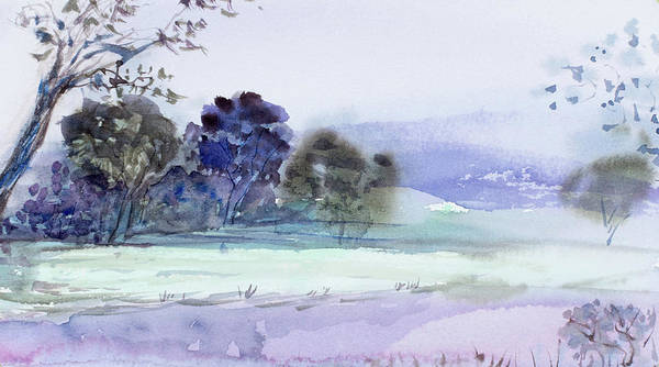 Painting - Bruny Island At Dusk by Dorothy Darden