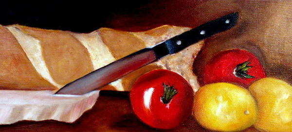 Painting - Bruschetta  by Susan Dehlinger