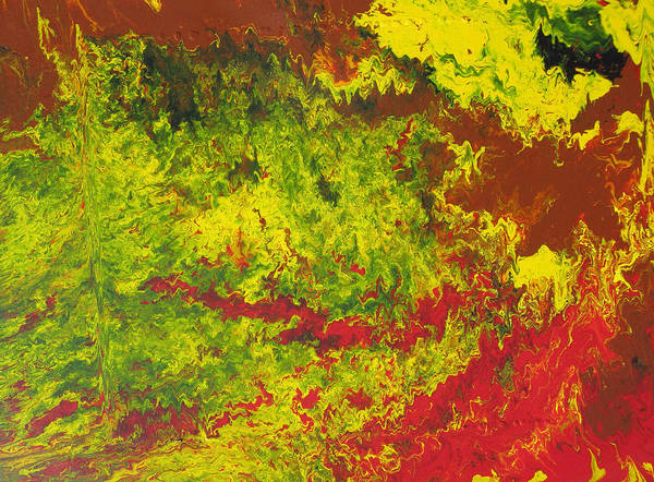 Painting - Brushfire by Ralph White