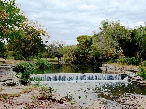 Digital Art - Brushy Creek by James Granberry
