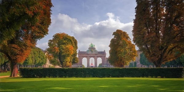 Photograph - Brussels Park by Joan Carroll
