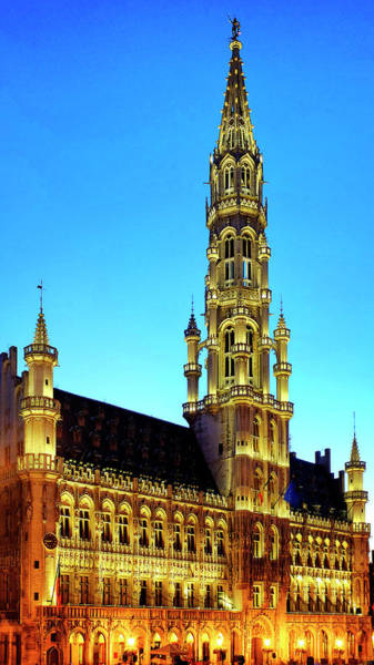 Photograph - Brussels Town Hall by Fabrizio Troiani