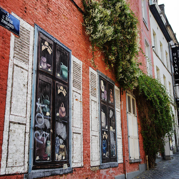 Photograph - Brussels Wall by Georgia Fowler