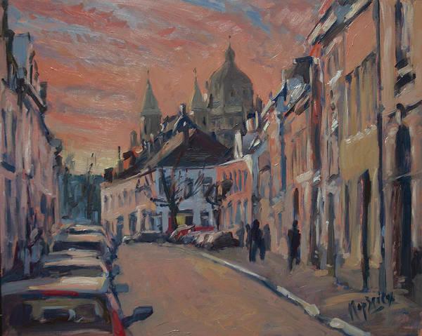 Brusselsestraat Maastricht Art Print