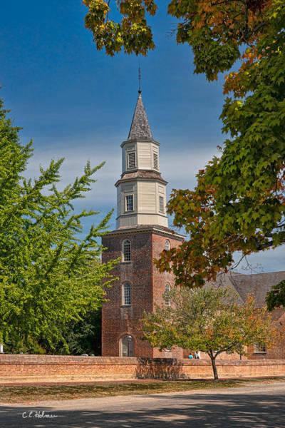Photograph - Bruton Parish Church by Christopher Holmes