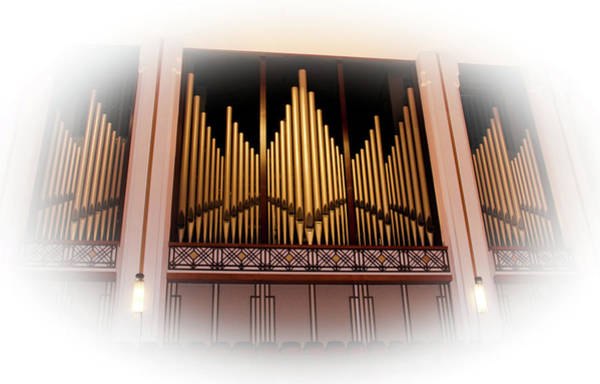 Photograph - Bryan Concert Organ In Jacoby Symphony Hall by Ola Allen