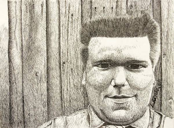 Drawing - Bryce-artist's Son by Wade Clark