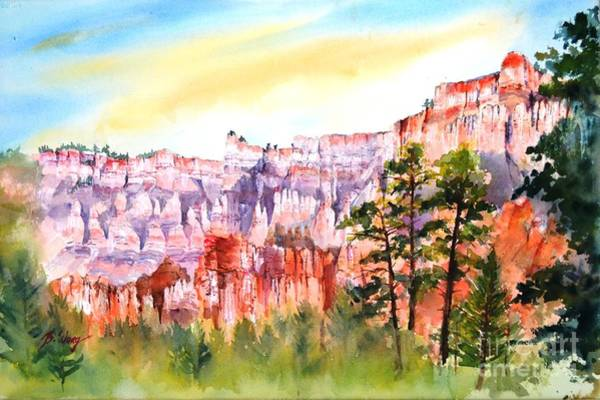 Painting - Bryce Canyon #3 by Betty M M Wong
