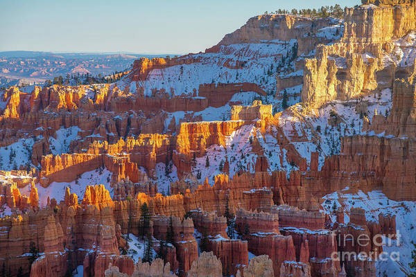 Wall Art - Photograph - Bryce Canyon Layers Of Rock And Light by Mike Reid