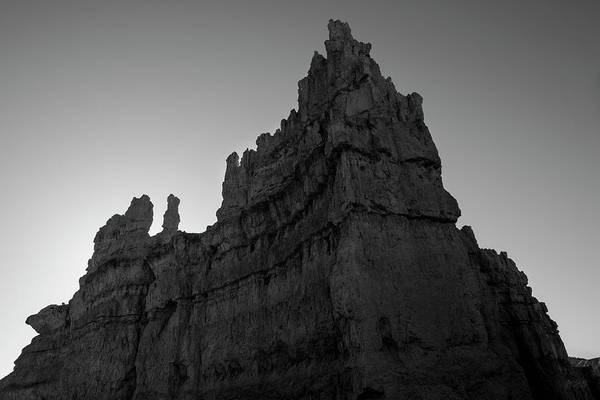 Photograph - Bryce Canyon Np IIi Bw by David Gordon