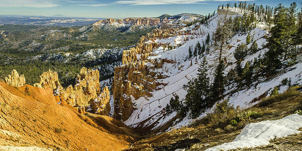 Aspect Wall Art - Photograph - Bryce Canyon Panoramic by Tom Clark