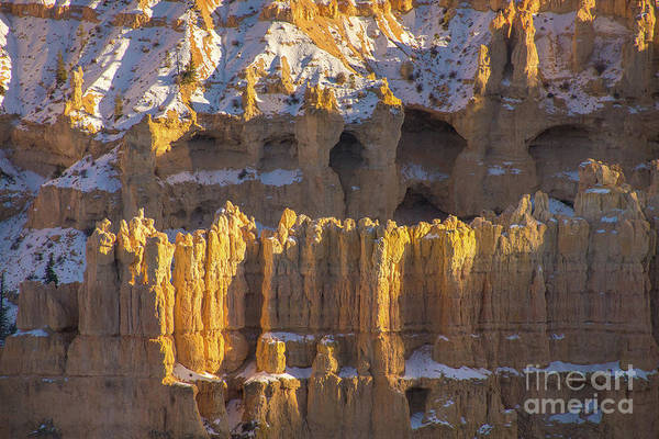 Wall Art - Photograph - Bryce Canyon Rock And Caves by Mike Reid