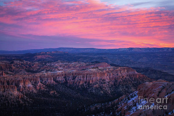 Wall Art - Photograph - Bryce Canyon Sunrise Expanse by Mike Reid