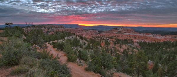 Wall Art - Photograph - Bryce Canyon Sunrise Panorama by Stephen  Vecchiotti