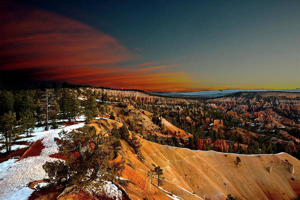 Photograph - Bryce Canyon Sunset by Norman Hall