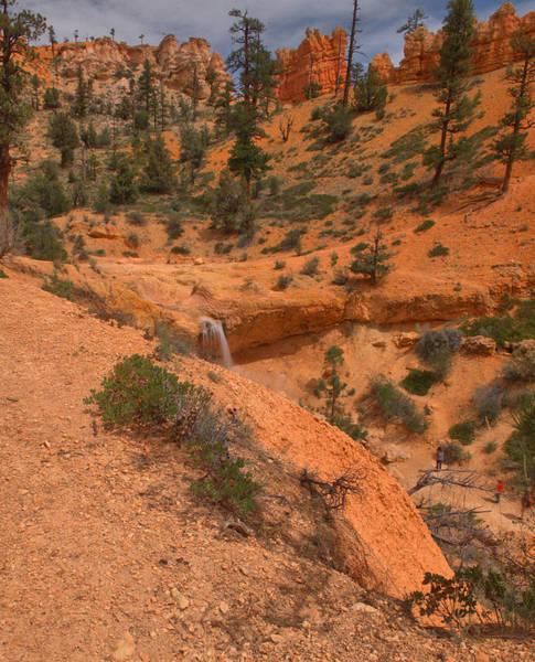 Wall Art - Photograph - Bryce Canyon Waterfall by Stephen  Vecchiotti