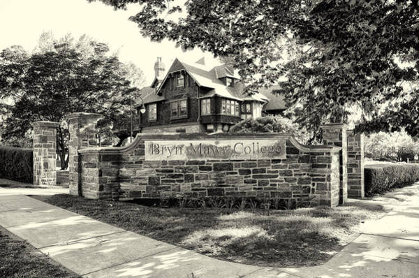 Wall Art - Photograph - Bryn Mawr College In Sepia by Bill Cannon