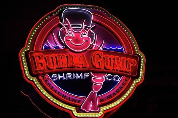 Photograph - Bubba Gump Shrimp Co by Lynn Bauer