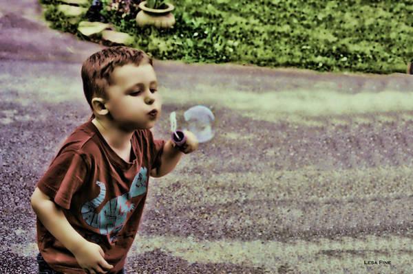 Mixed Media - Bubble Liscious by Lesa Fine
