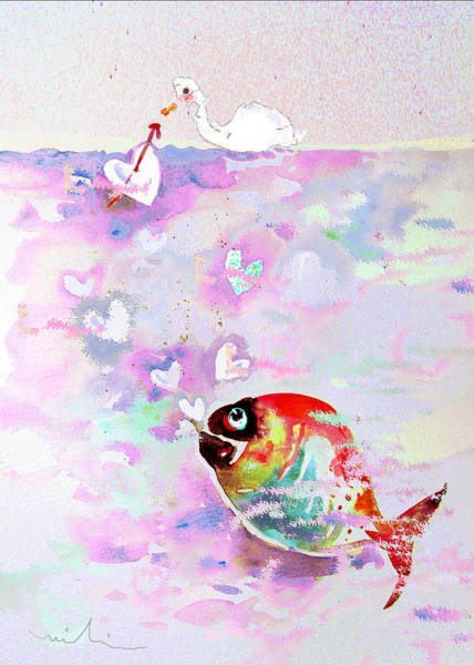 Painting - Bubble Love by Miki De Goodaboom