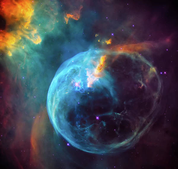Wall Art - Photograph - Bubble Nebula 2 by Jennifer Rondinelli Reilly - Fine Art Photography