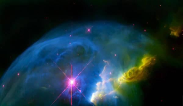Wall Art - Photograph - Bubble Nebula by Jennifer Rondinelli Reilly - Fine Art Photography